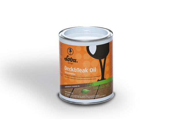 Терасне масло Loba Deck&Teak Oil Безколірне 0