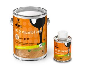 Олія для паркету Loba HS 2K Impact Oil Color Глина 0