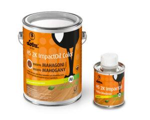 Олія для паркету Loba HS 2K Impact Oil Color Махагон 0