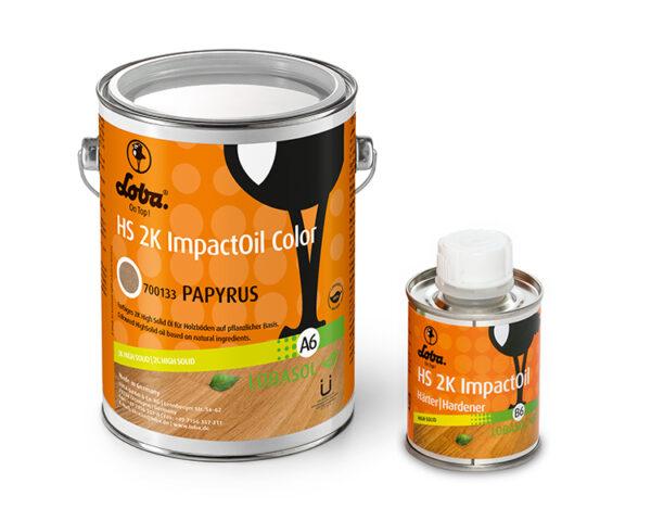 Олія для паркету Loba HS 2K Impact Oil Color Папірус 0