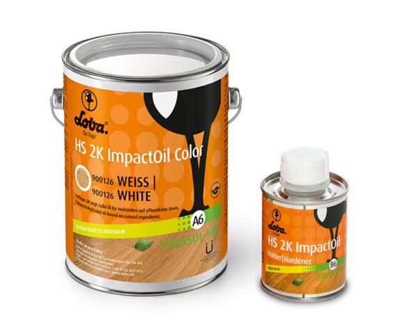 Олія для паркету Loba HS 2K Impact Oil Color Білий 0