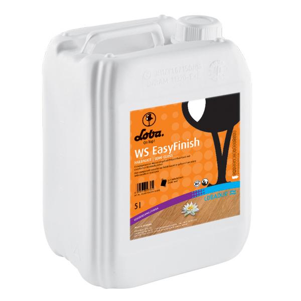 Лак для паркету Loba WS EasyFinish полуматовый 5 л
